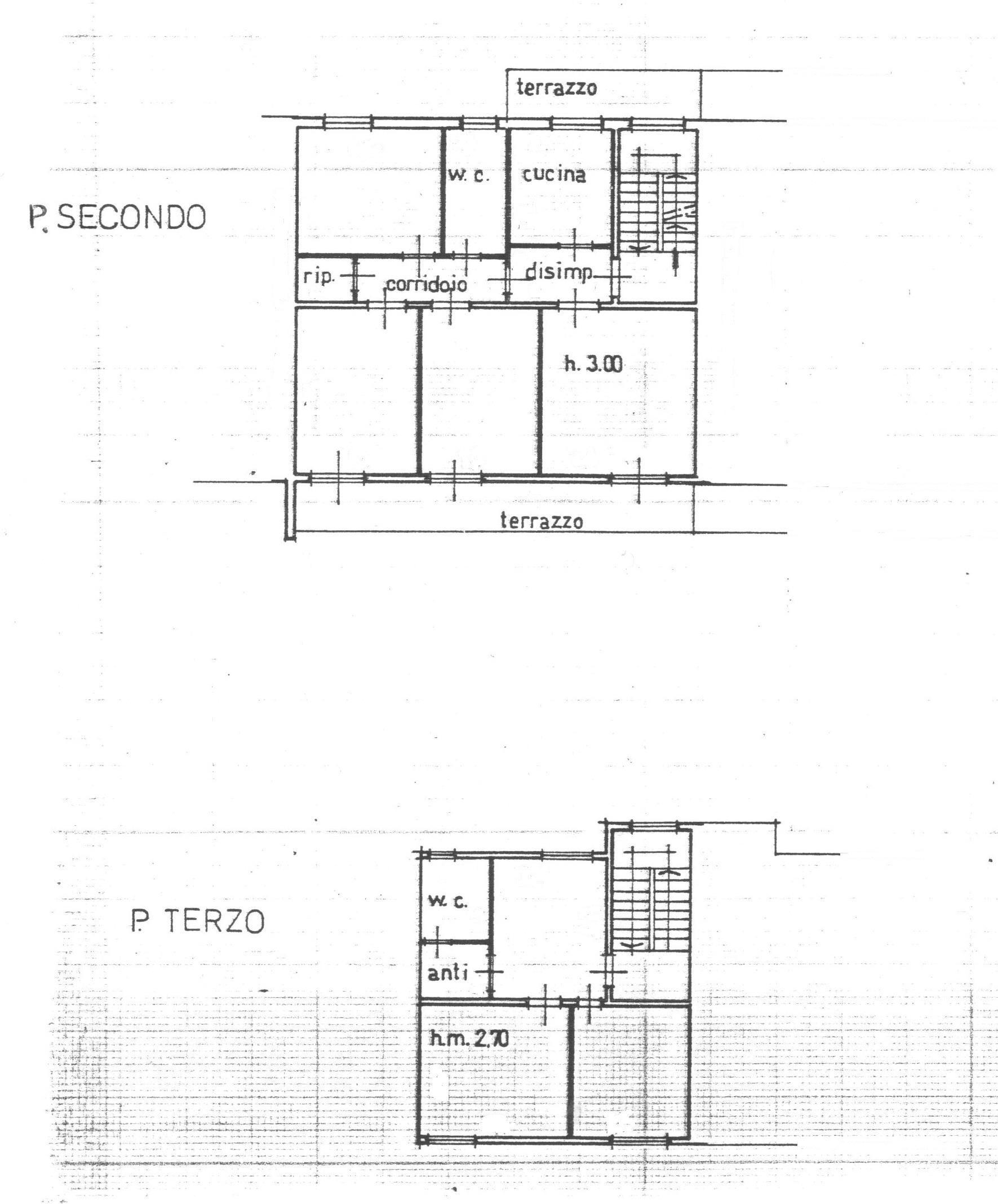 Planimetria 2/2 per rif. 1689
