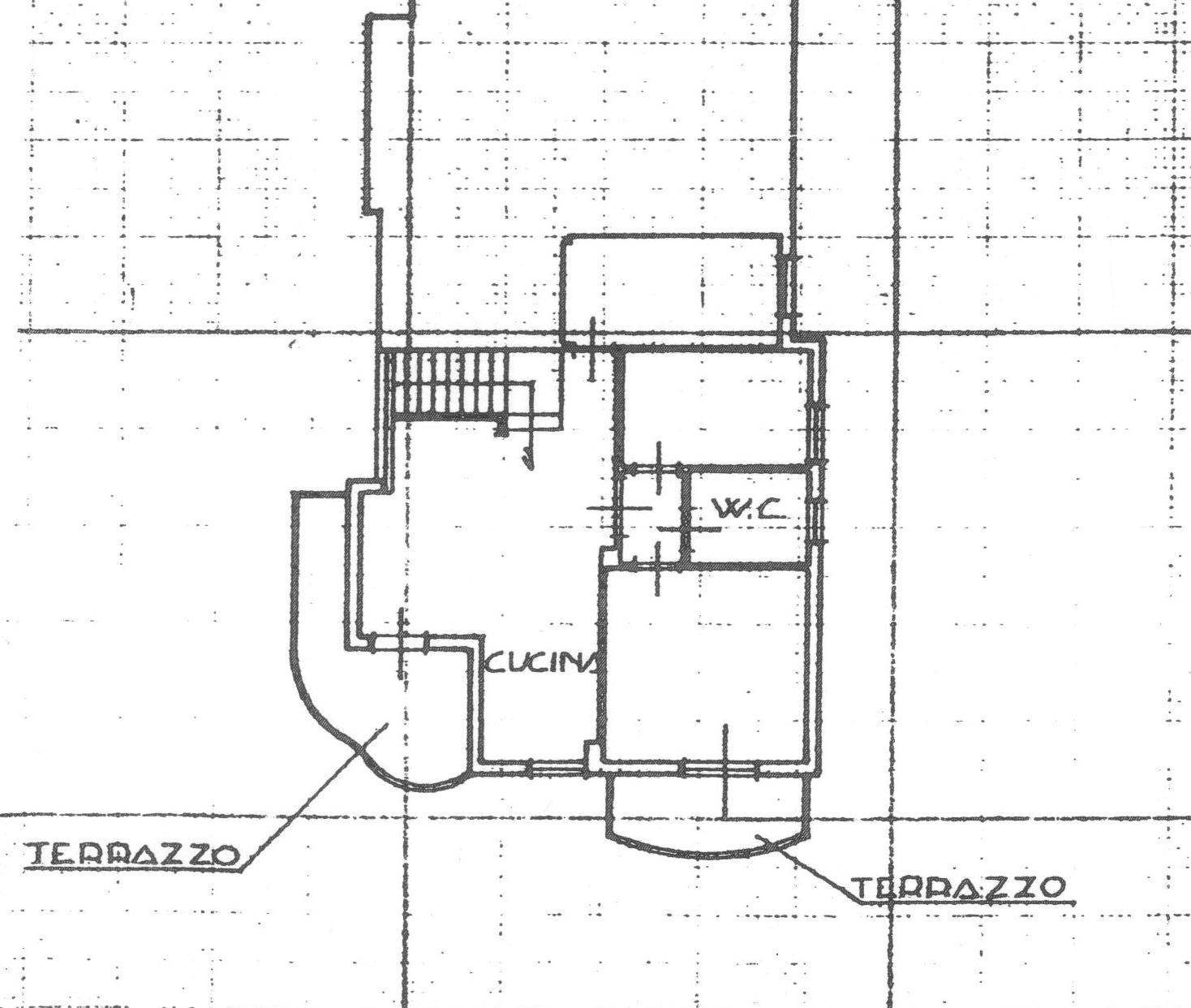 Planimetria 1/3 per rif. 1690