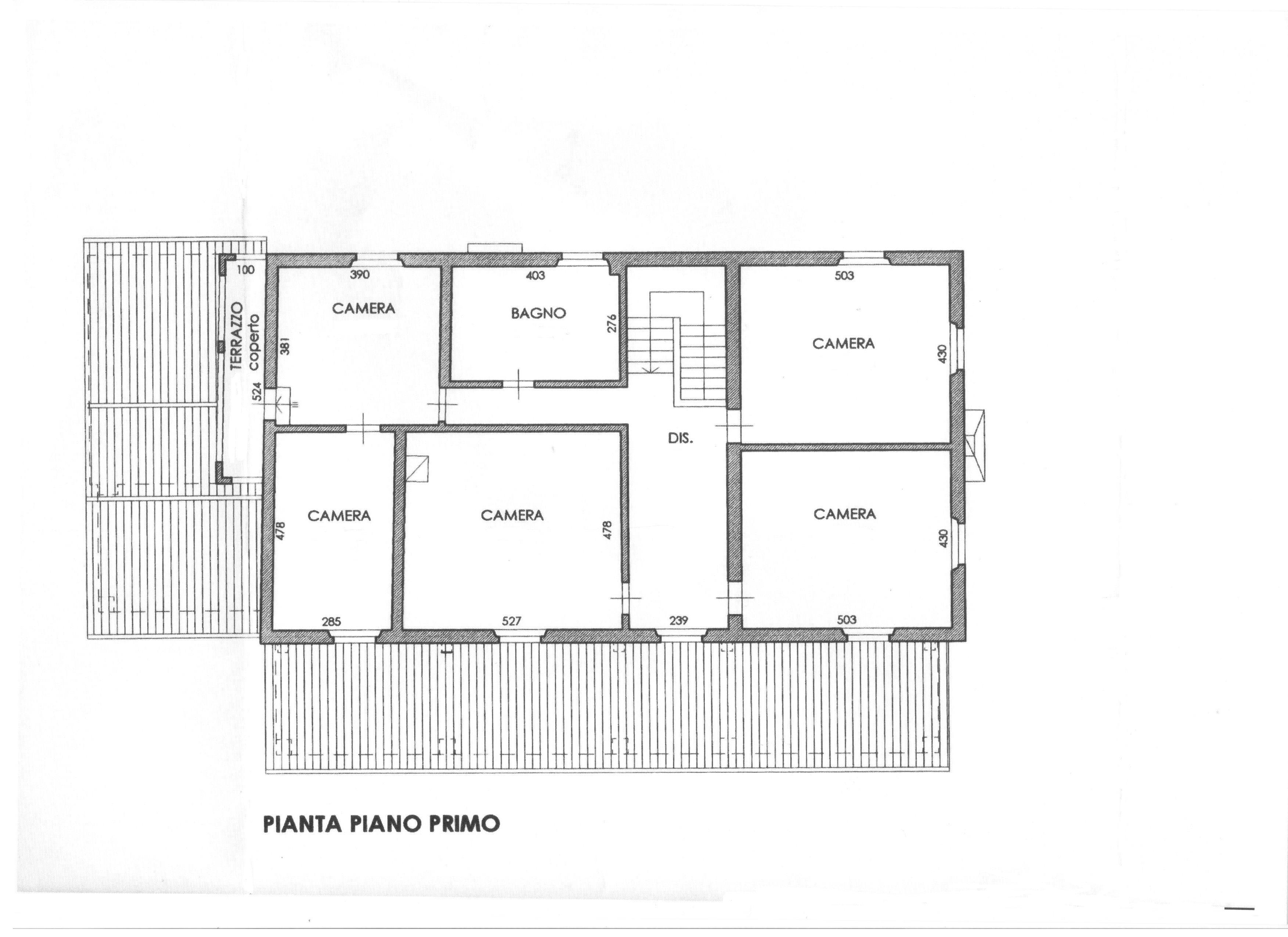 Planimetria 2/3 per rif. 1694
