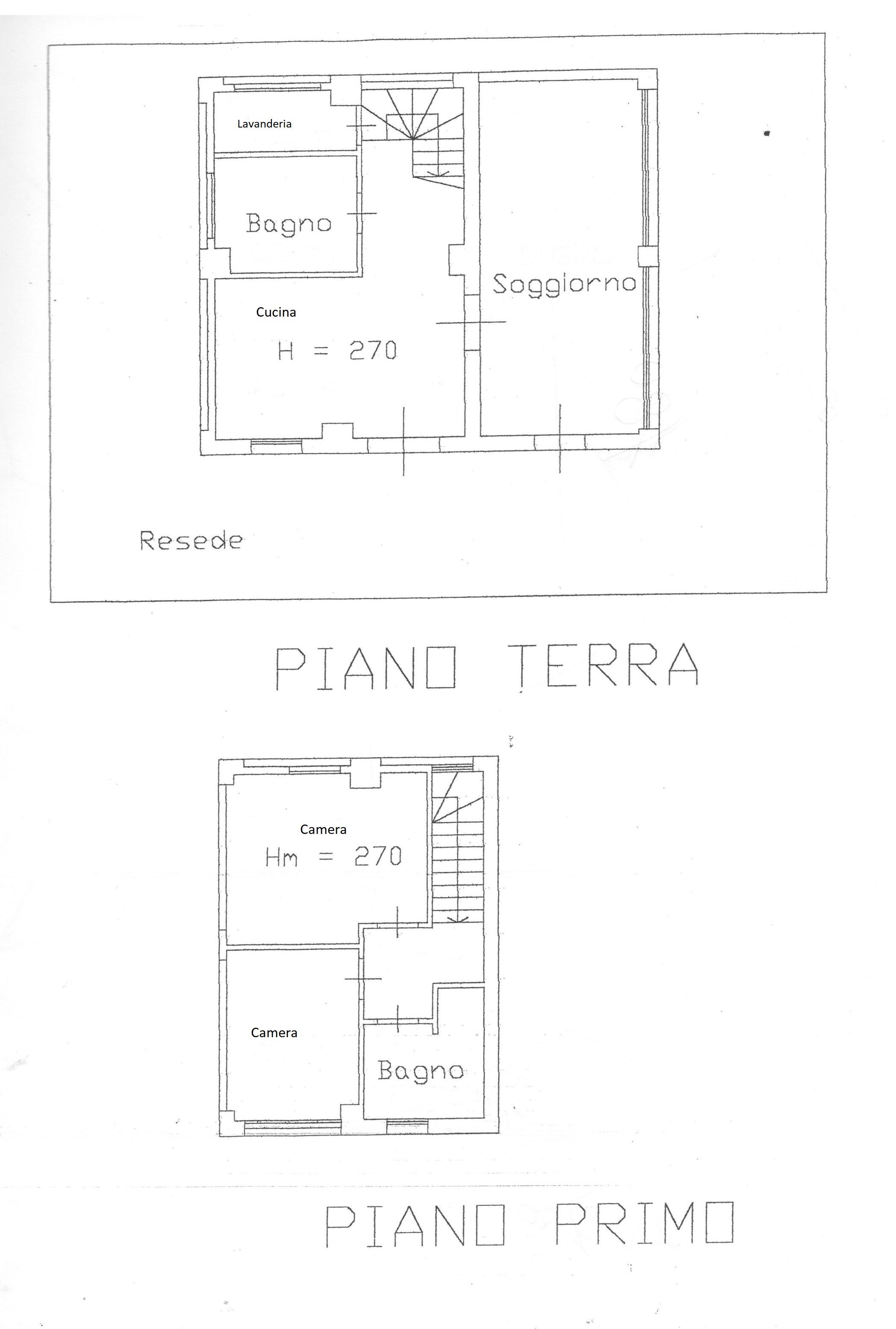 Planimetria 3/3 per rif. 1694