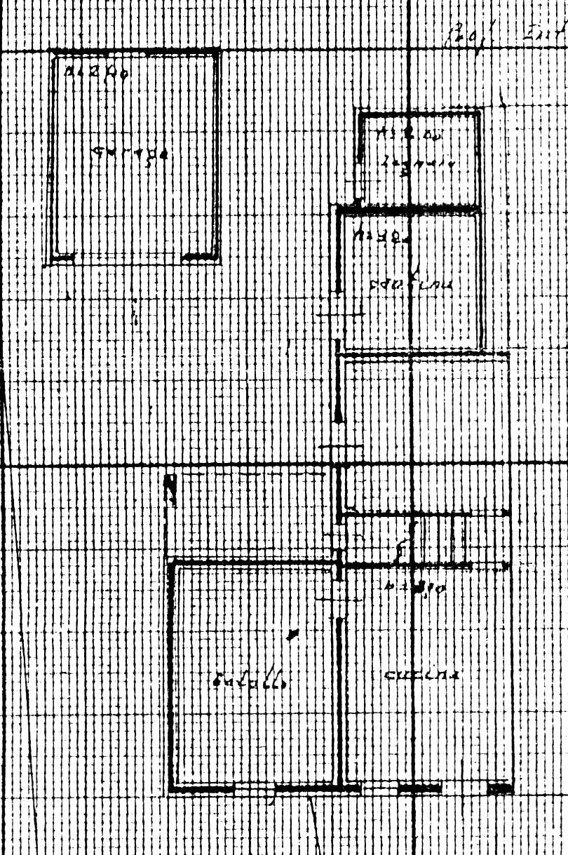 Planimetria 1/2 per rif. 1698