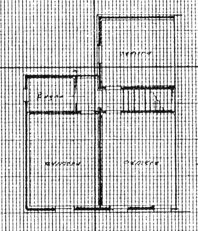 Planimetria 2/2 per rif. 1698