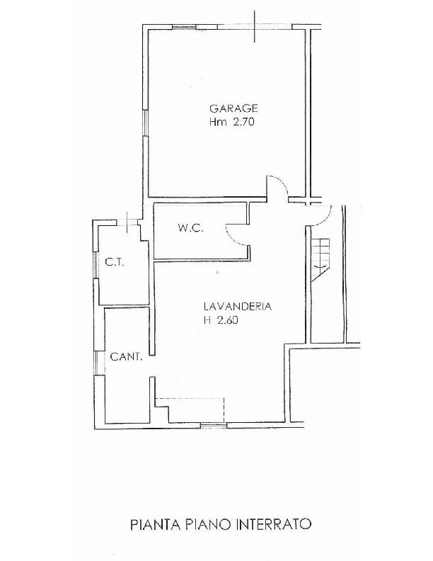 Planimetria 2/2 per rif. 1702