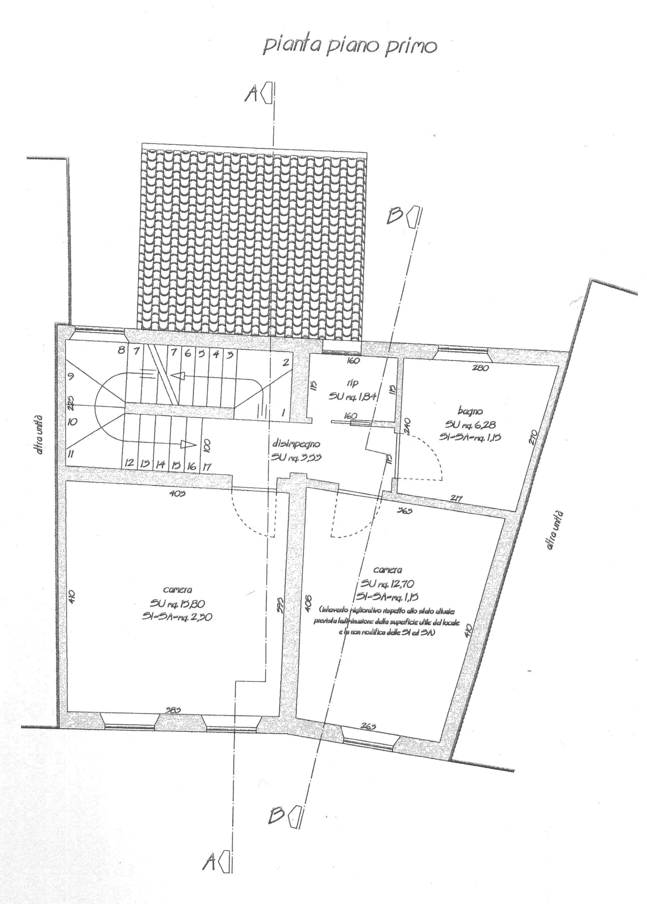 Planimetria 2/6 per rif. 1703