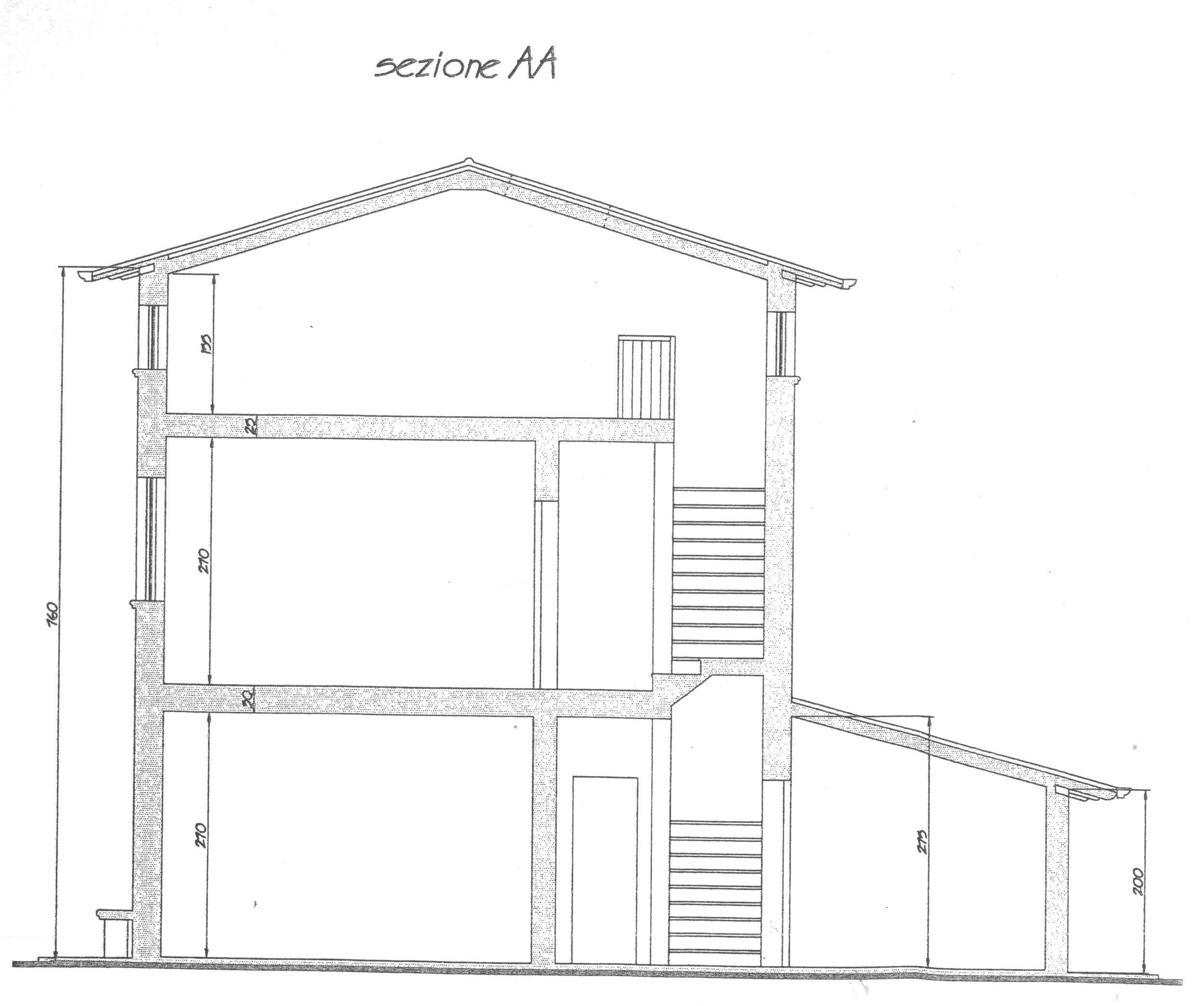 Planimetria 5/6 per rif. 1703