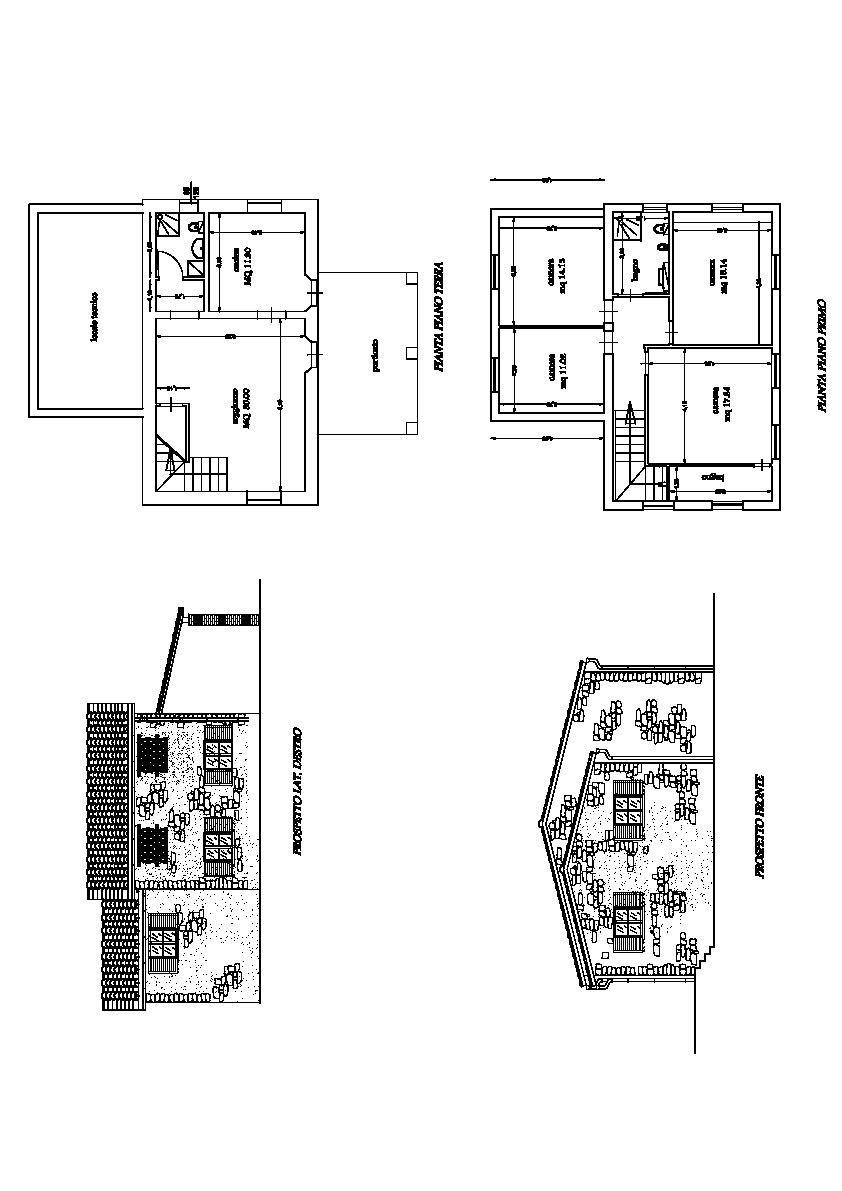 Planimetria 2/3 per rif. 1708