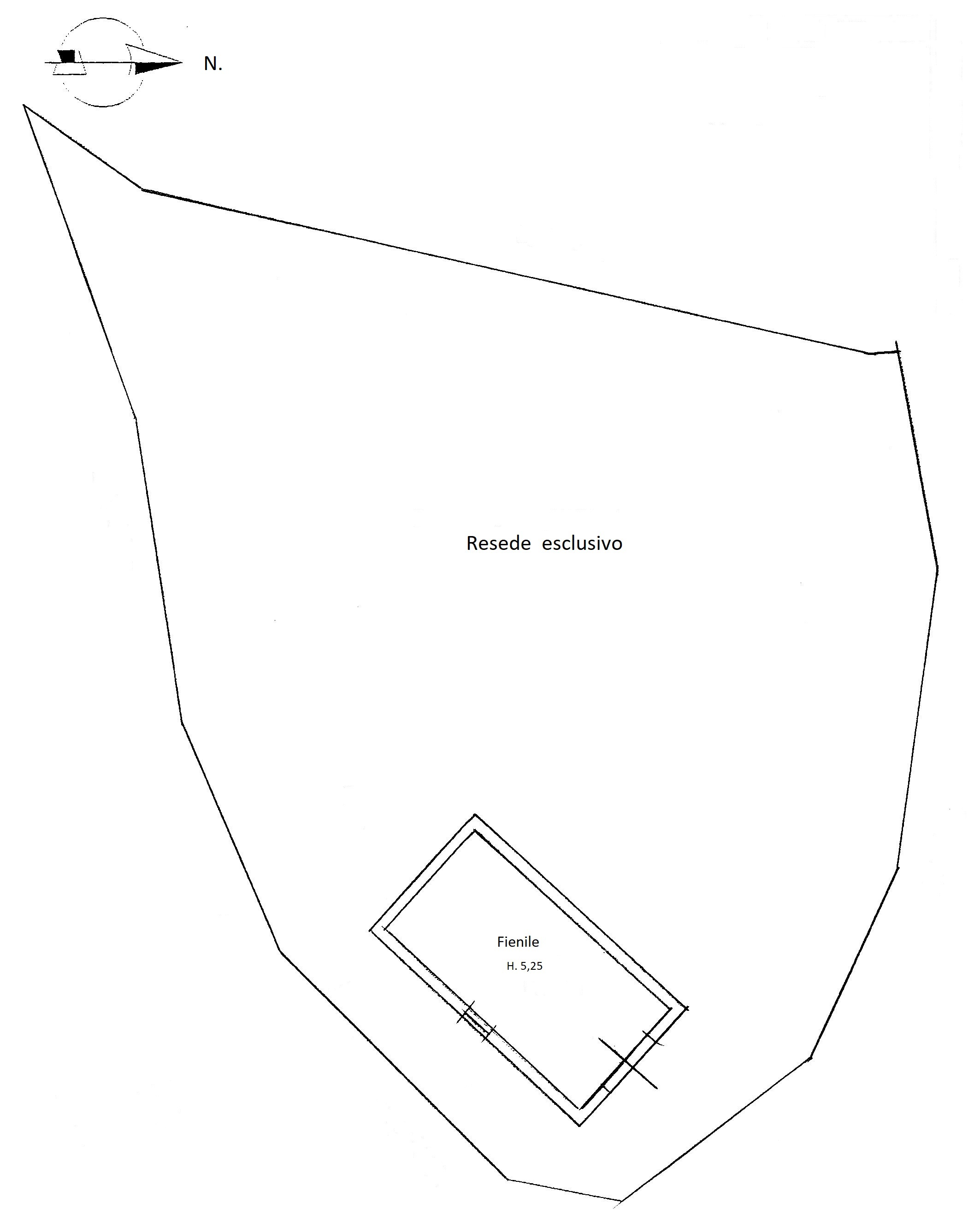Planimetria 3/3 per rif. 1708