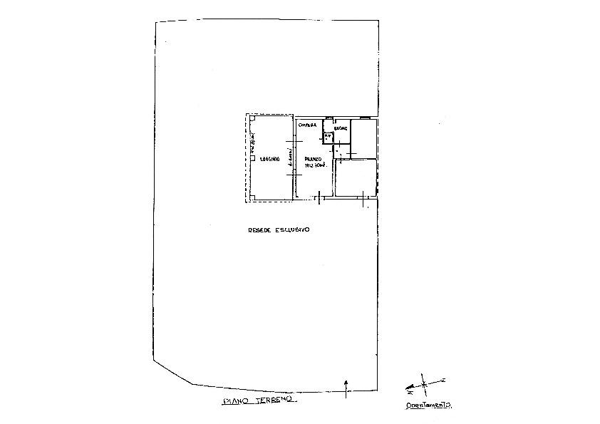 Planimetria 1/1 per rif. 1716