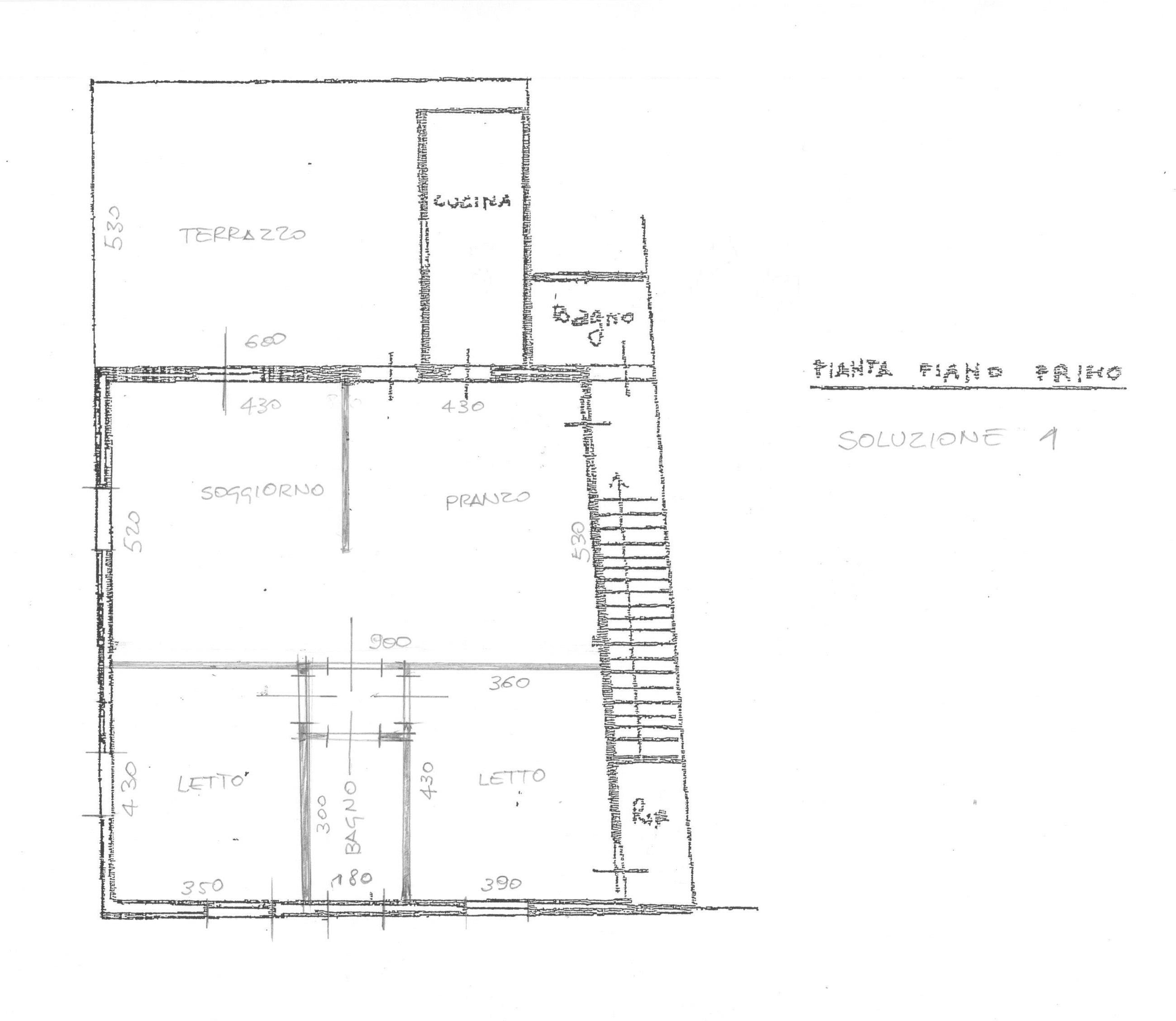 Planimetria 2/4 per rif. 1720