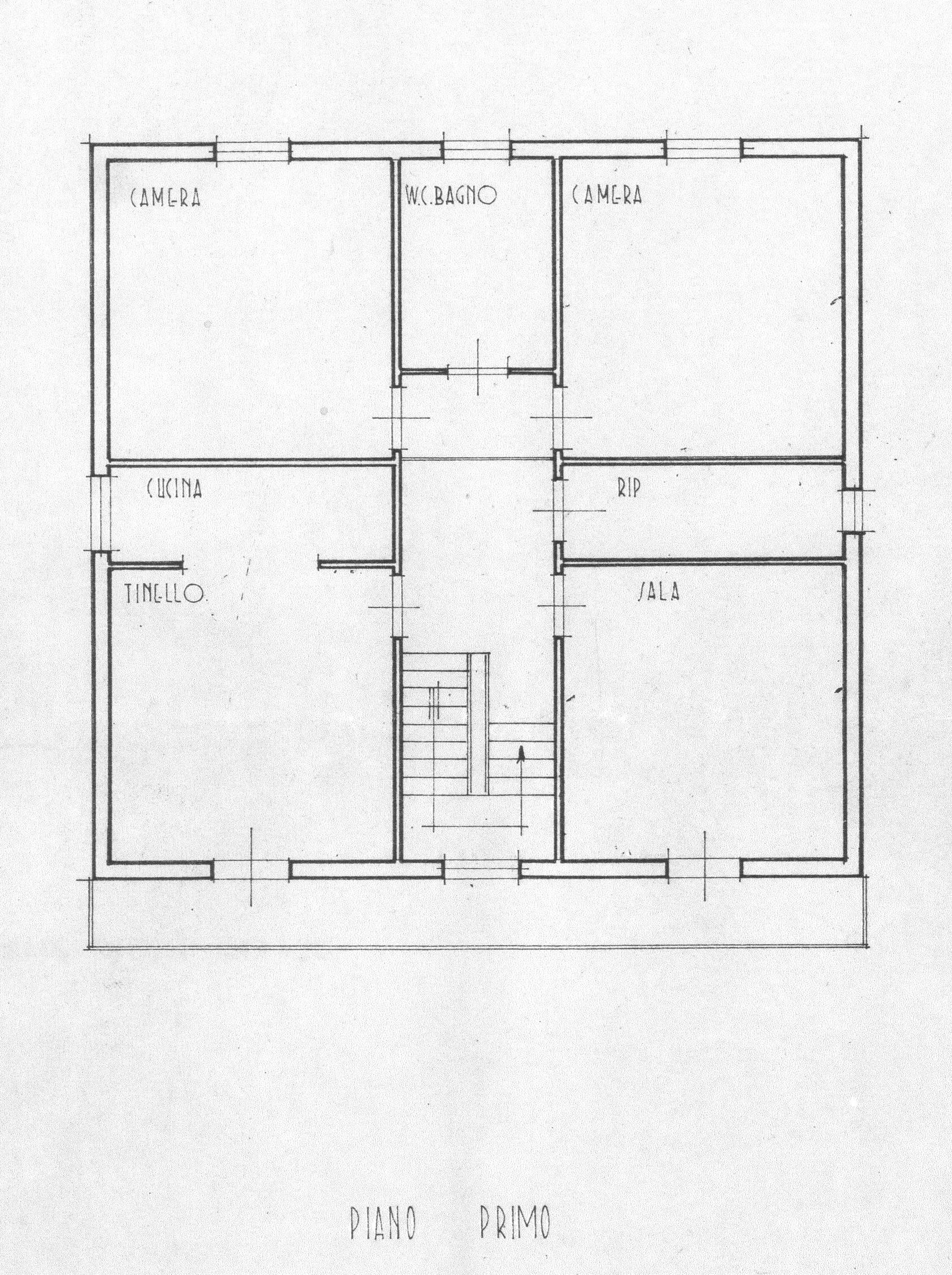 Planimetria 2/2 per rif. 1722