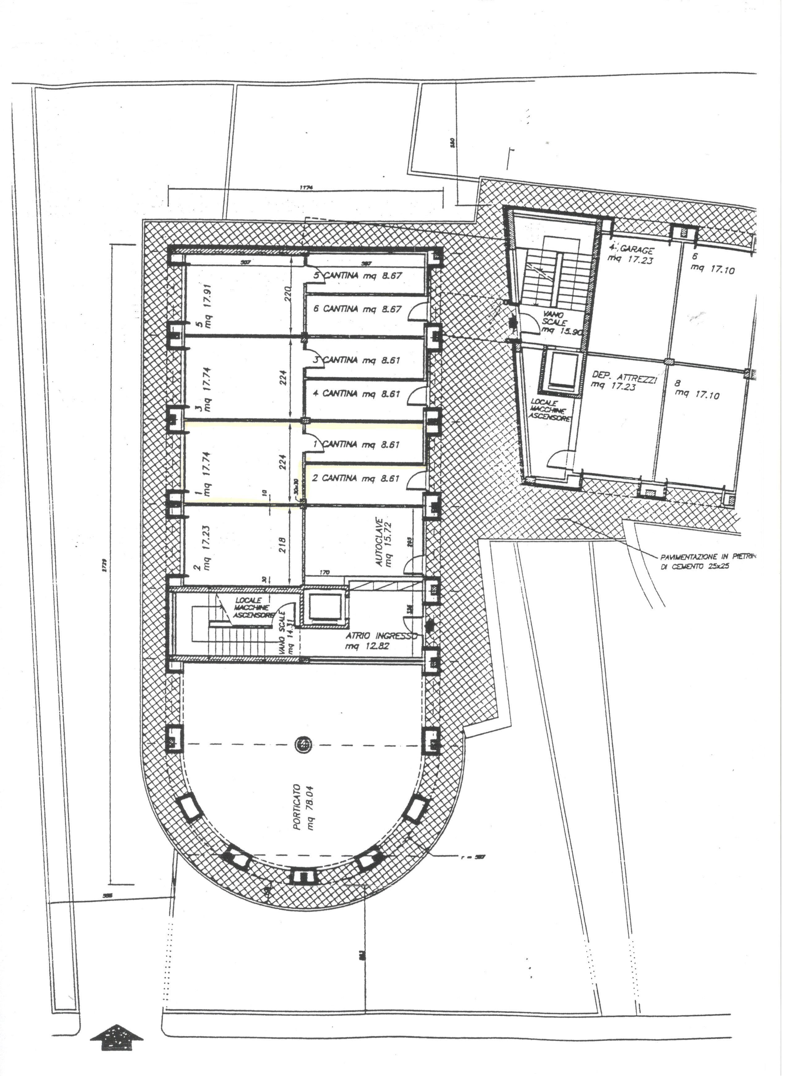Planimetria 2/2 per rif. 1723