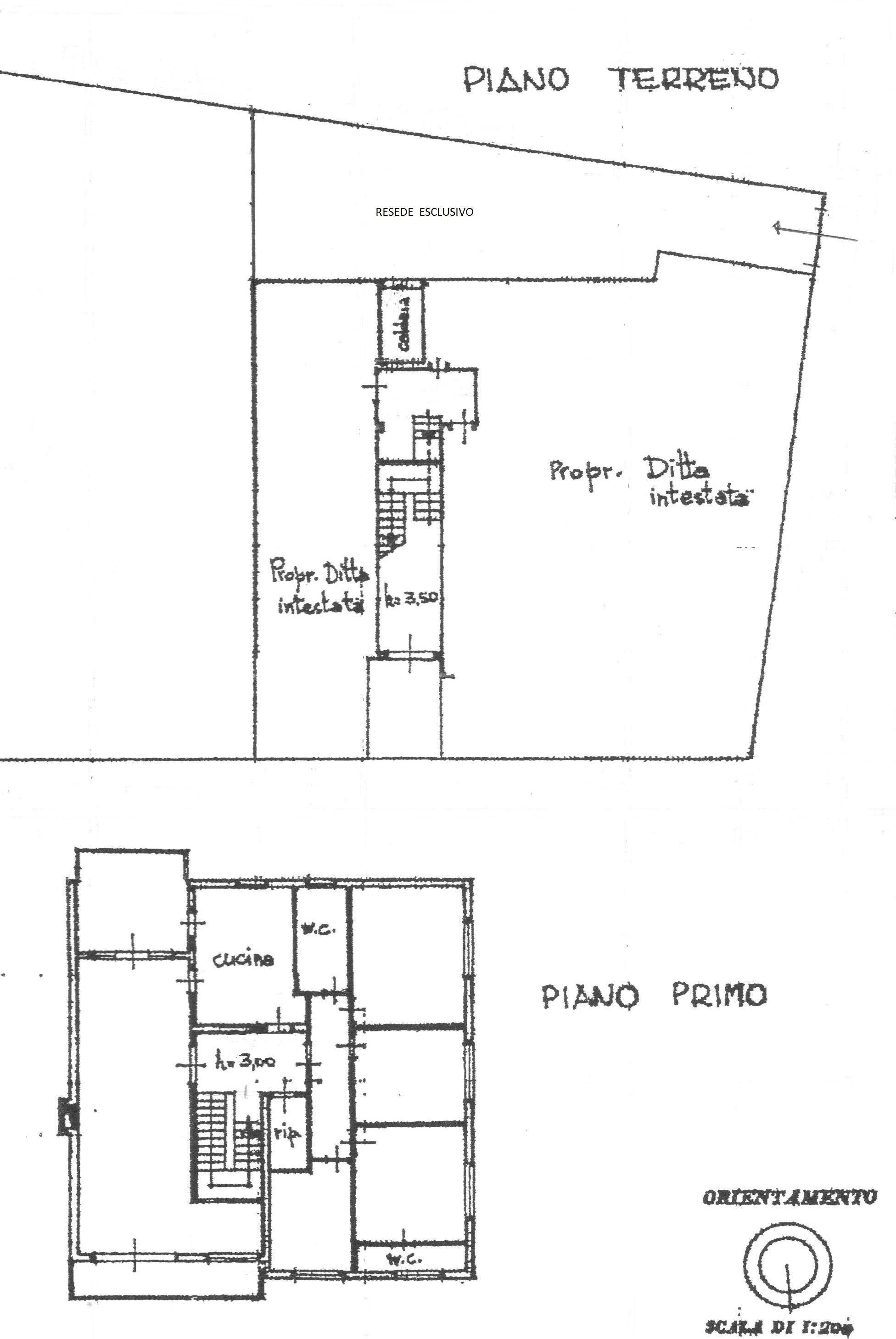 Planimetria 1/1 per rif. 1729