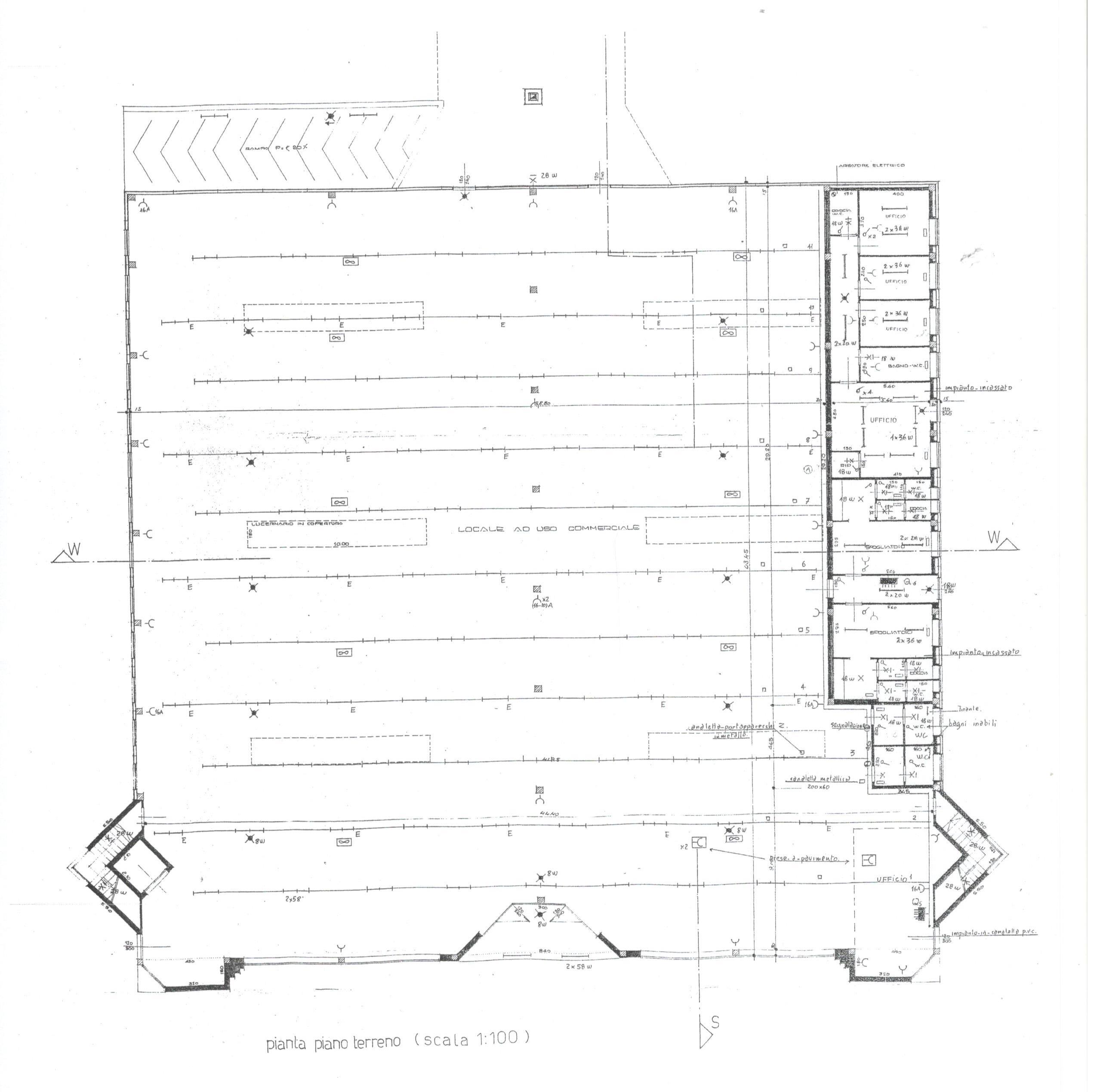 Planimetria 1/2 per rif. 1731