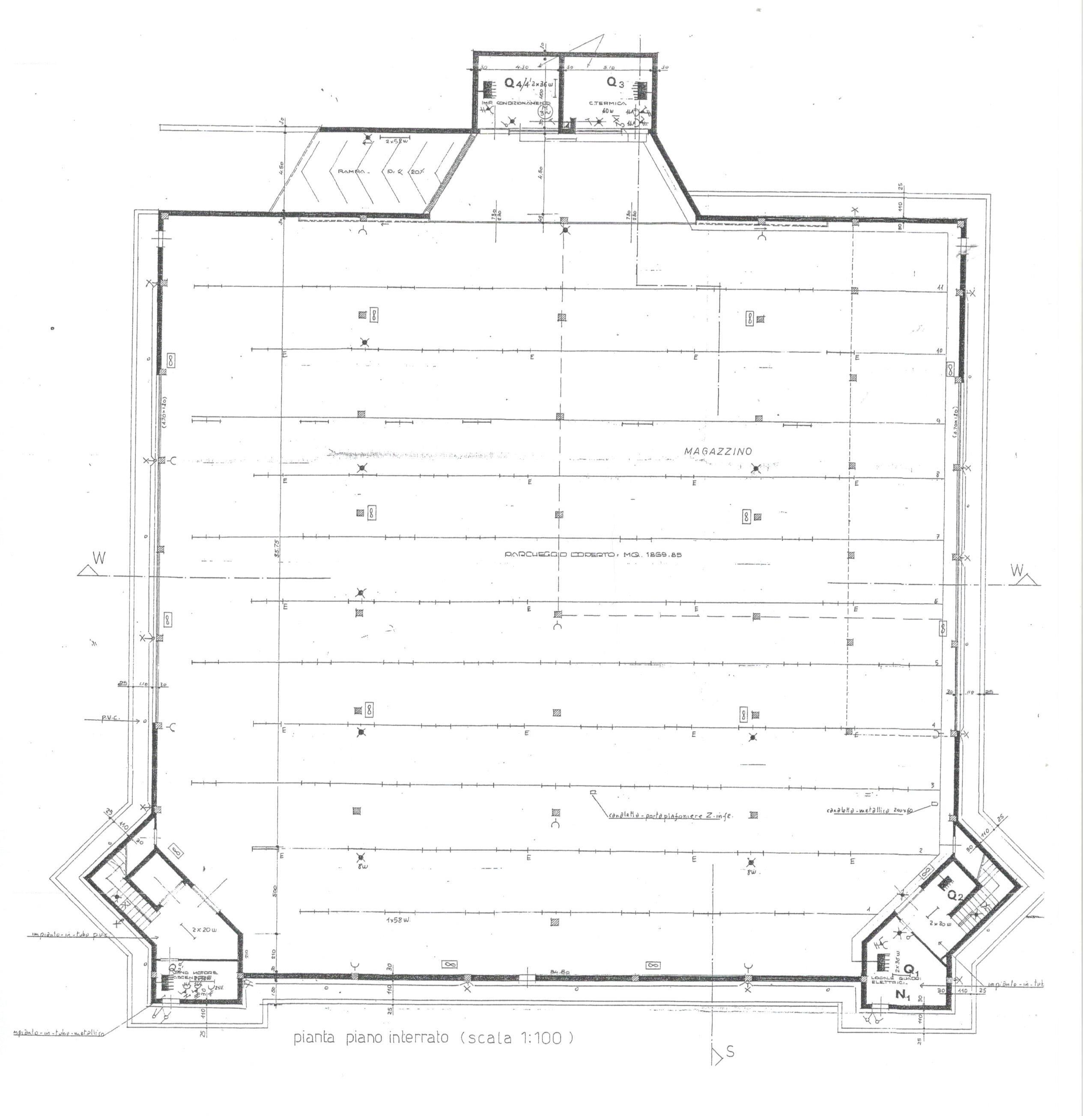 Planimetria 2/2 per rif. 1731
