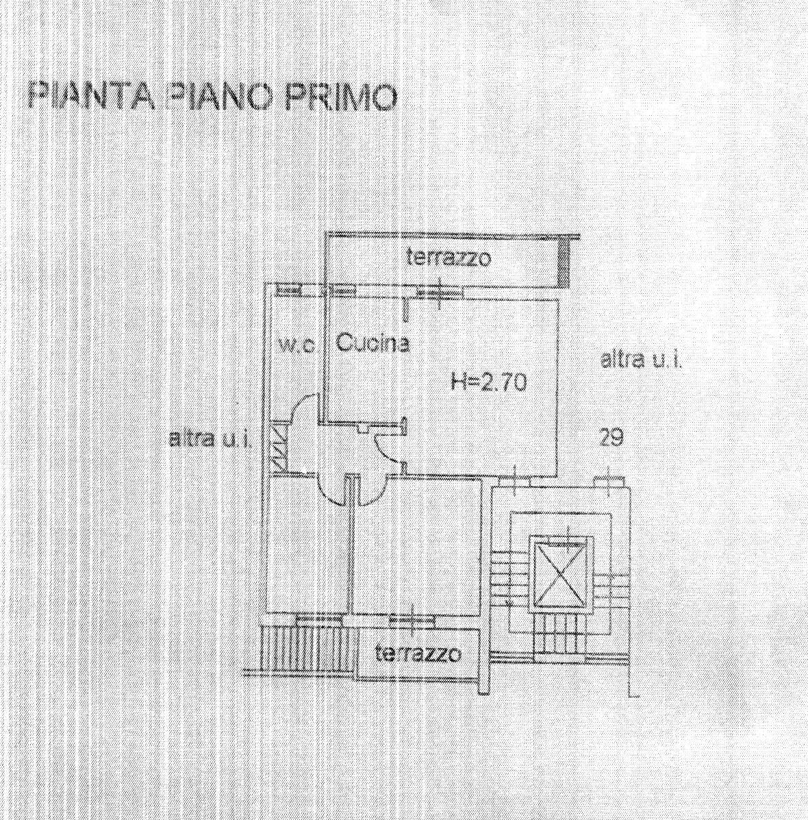 Planimetria 1/1 per rif. 1732