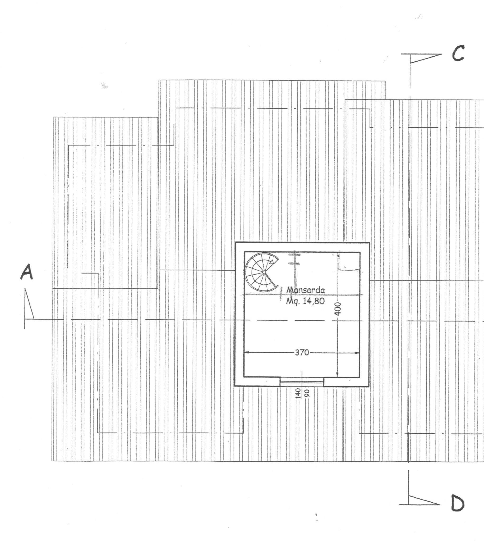 Planimetria 3/3 per rif. 1734