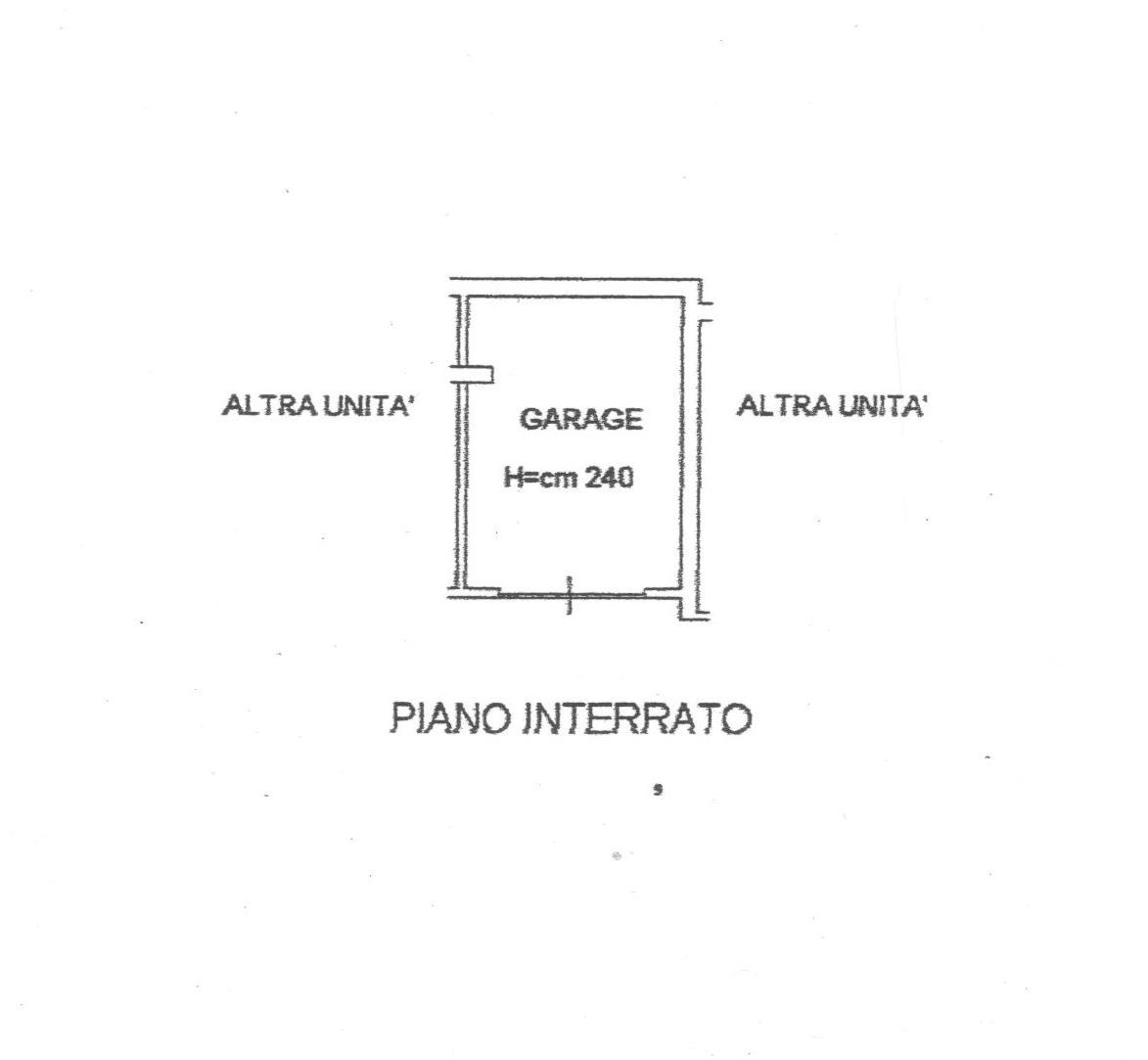 Planimetria 2/2 per rif. 1739