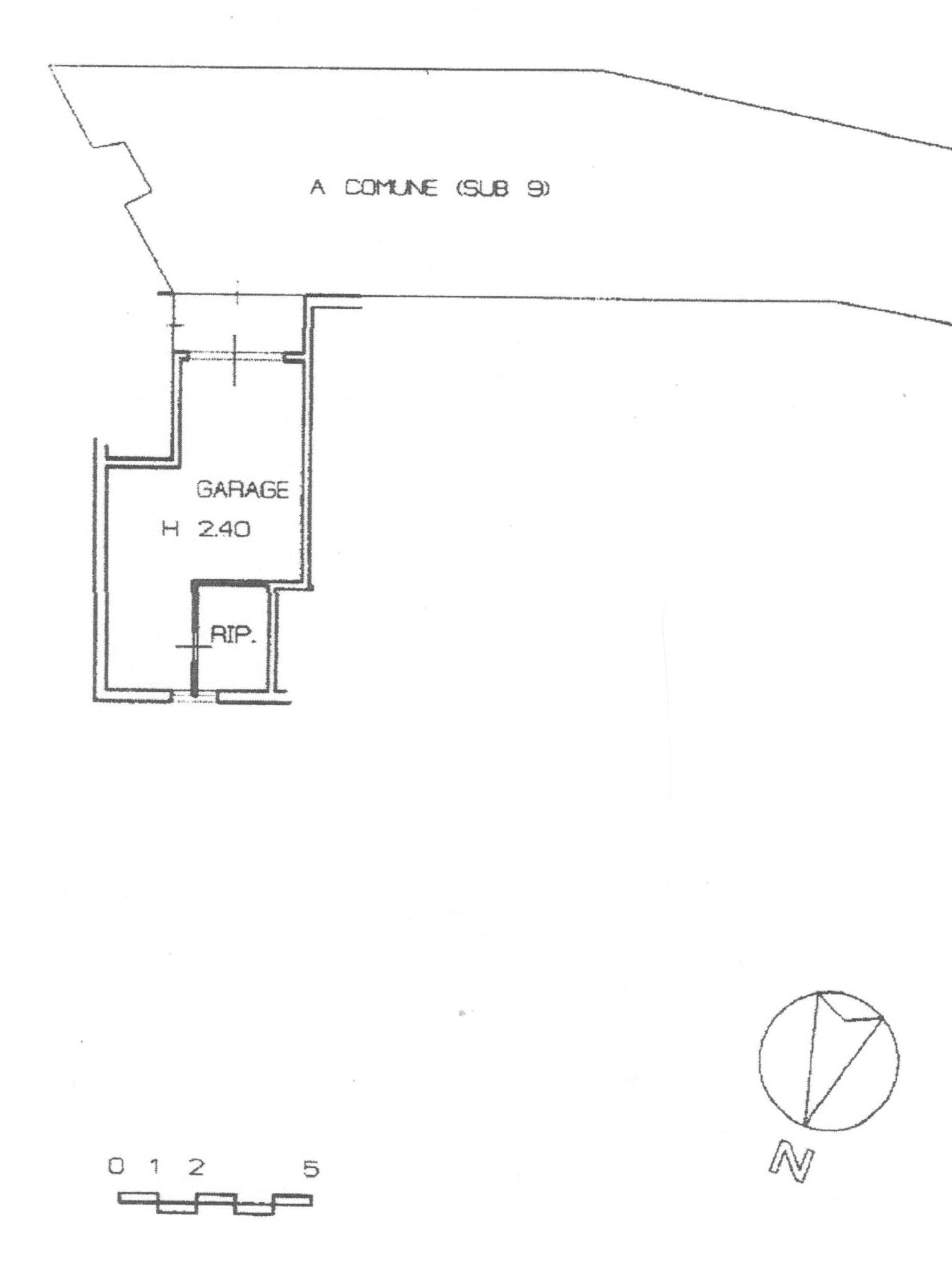 Planimetria 2/2 per rif. 1740