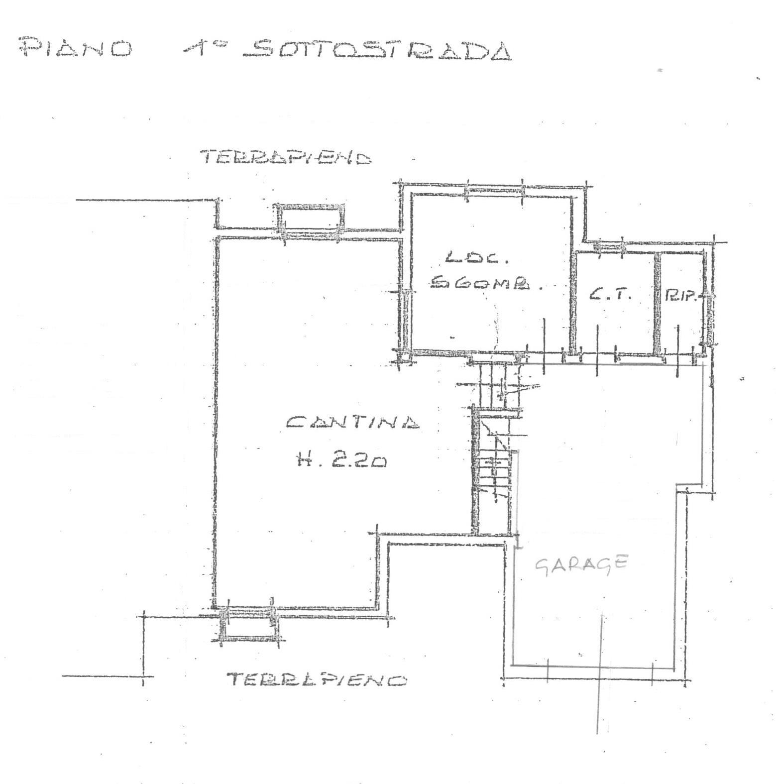 Planimetria 2/2 per rif. 1742