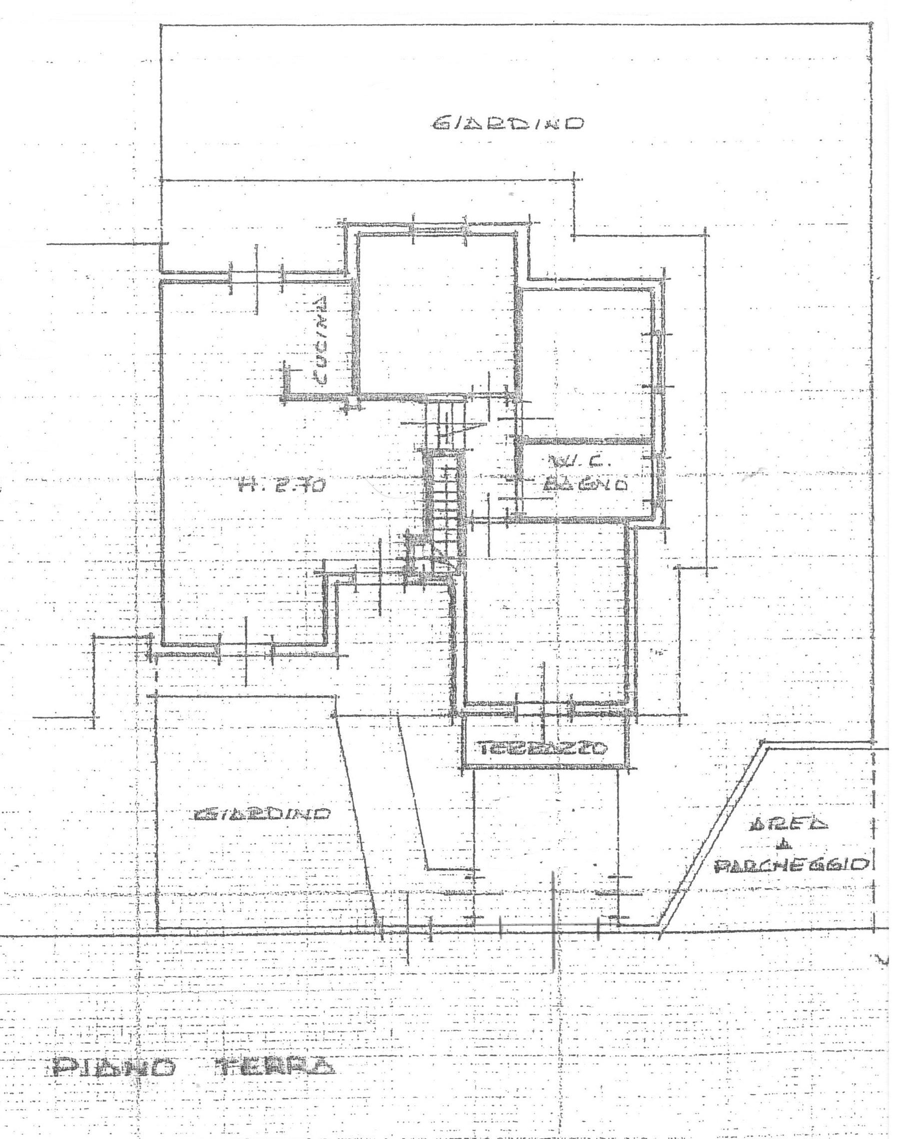 Planimetria 1/2 per rif. 1742