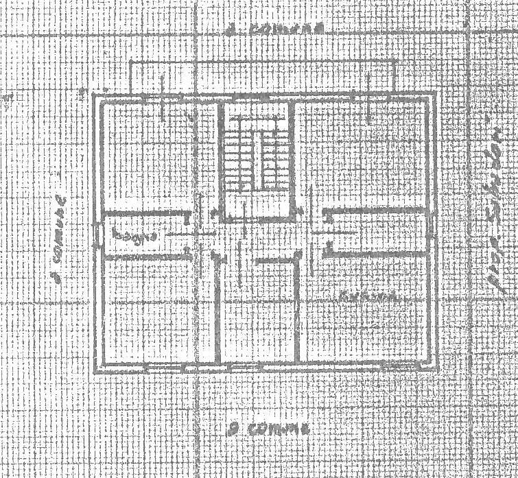 Planimetria 2/2 per rif. 1745