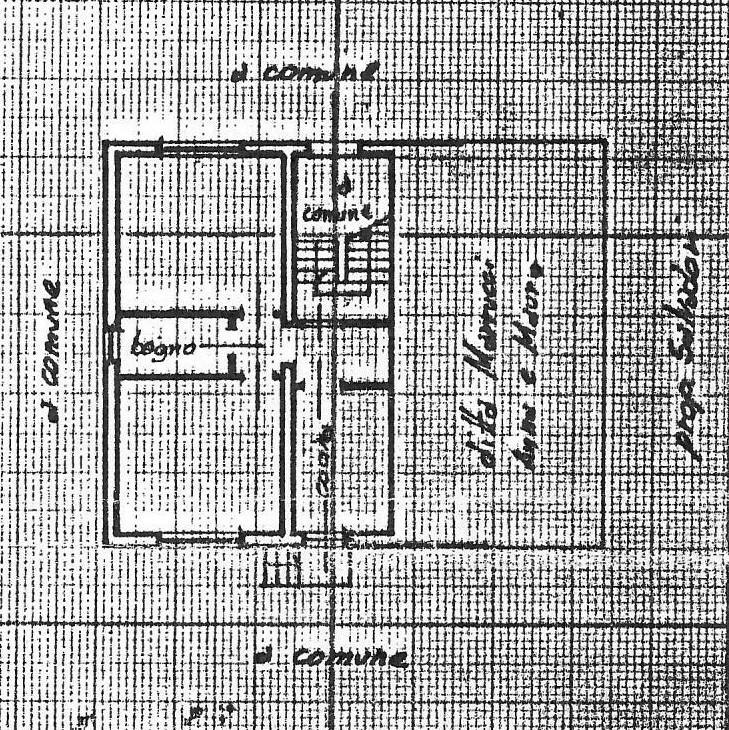 Planimetria 1/2 per rif. 1745