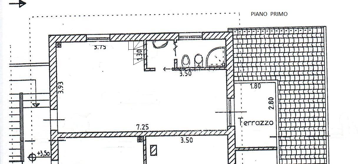 Planimetria 1/2 per rif. 1758