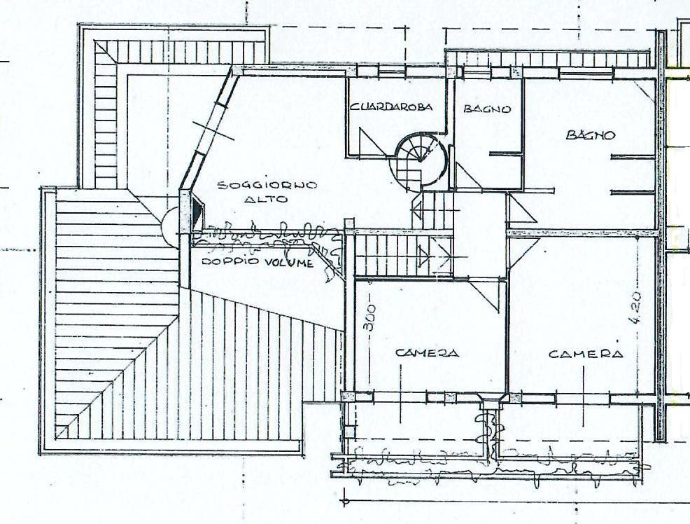 Planimetria 2/4 per rif. 1760