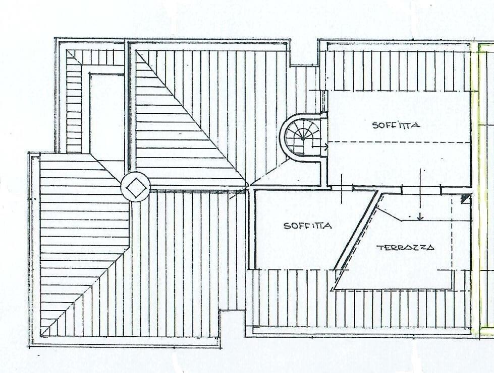 Planimetria 3/4 per rif. 1760