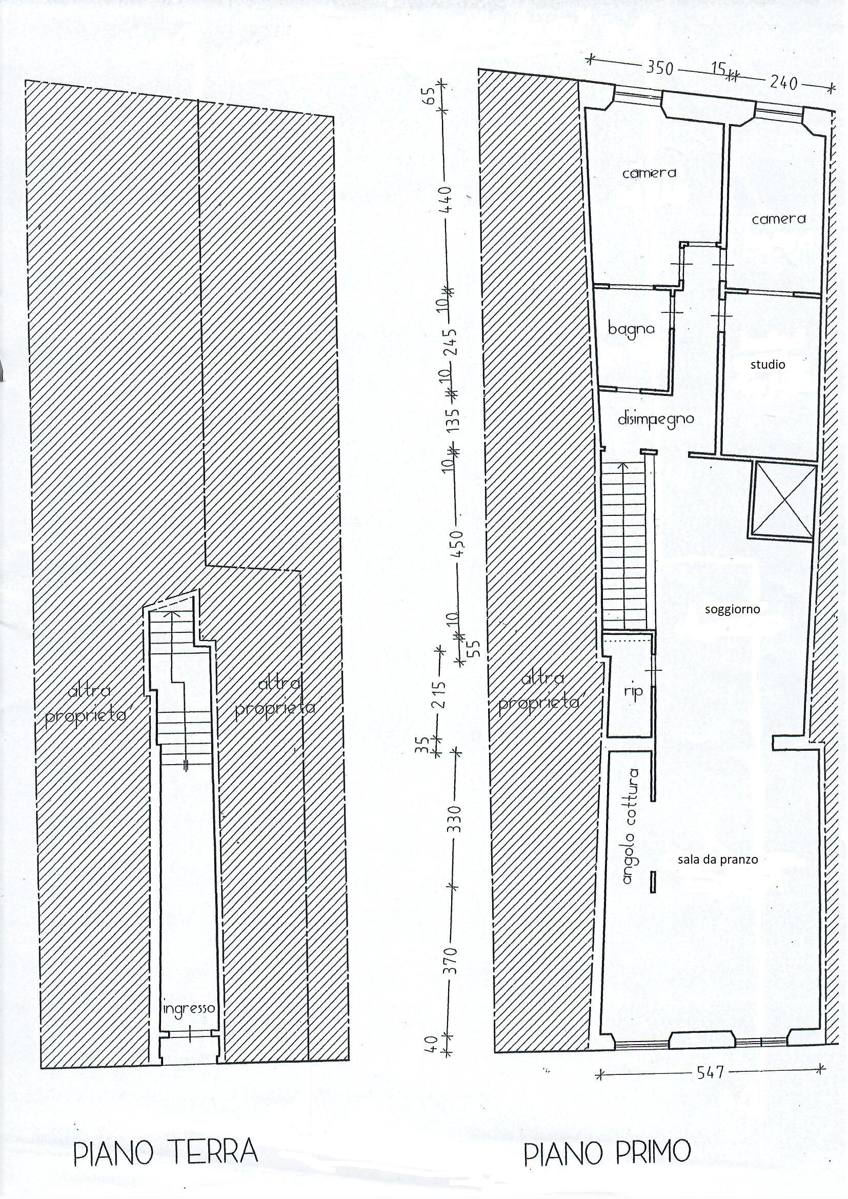 Planimetria 1/1 per rif. 1761