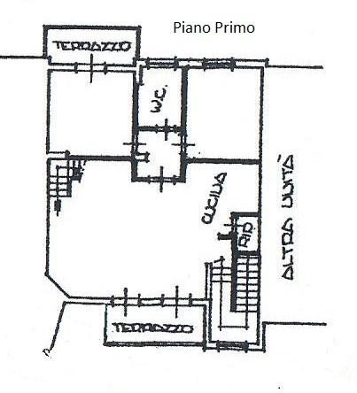 Planimetria 2/5 per rif. 1763