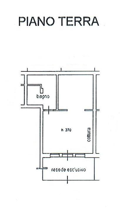 Planimetria 1/1 per rif. 1764