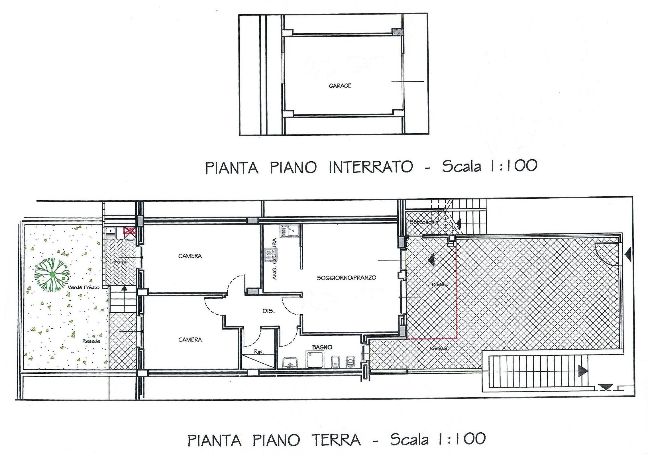 Planimetria 1/1 per rif. 1771
