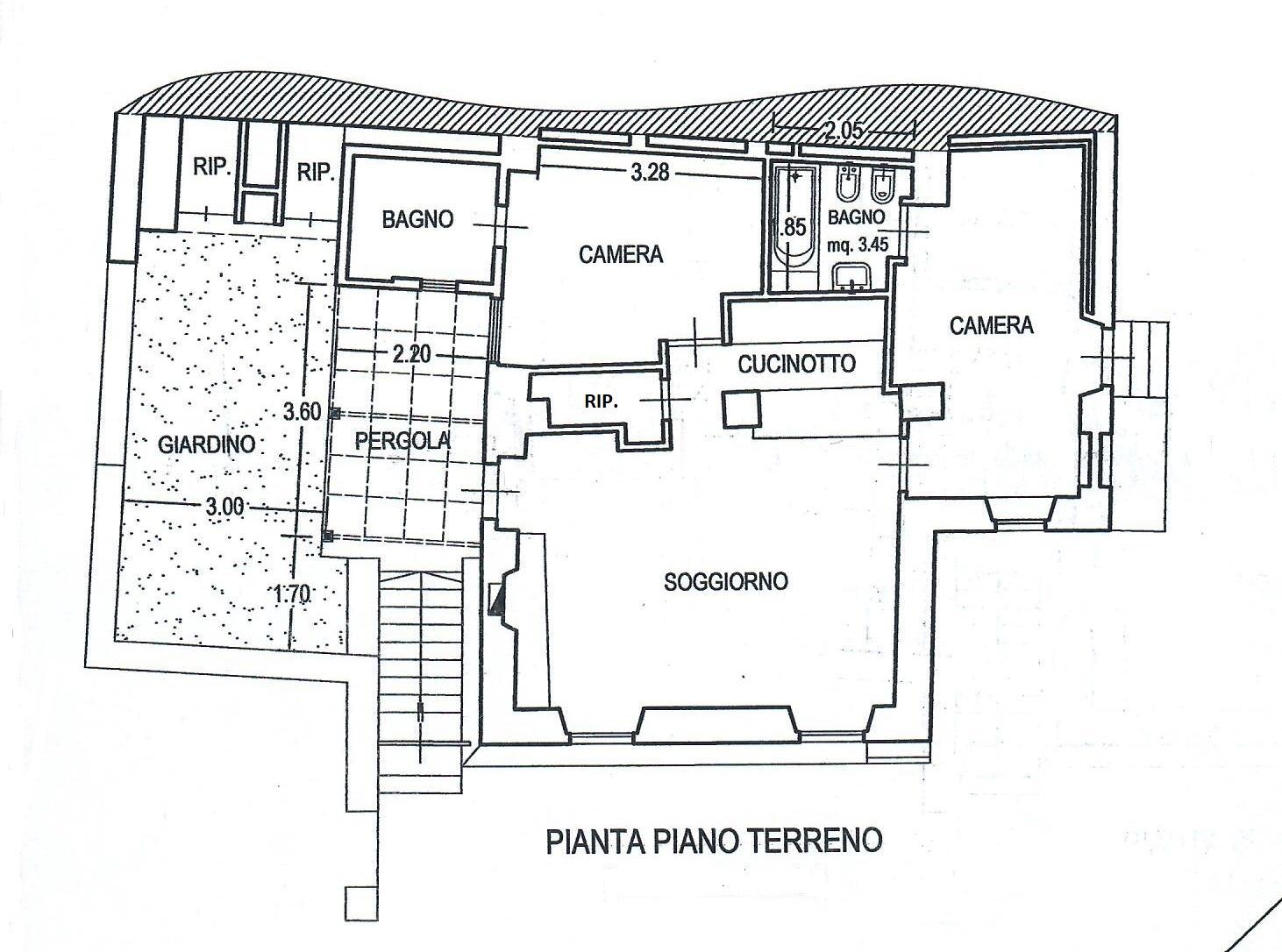 Planimetria 1/1 per rif. 1778