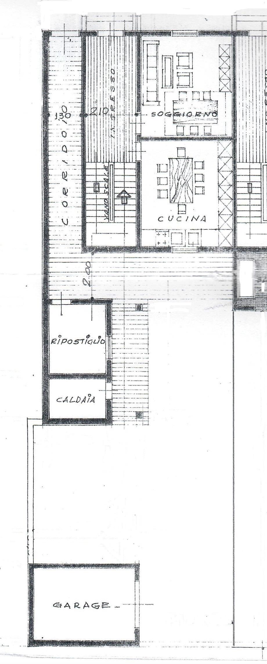 Planimetria 1/2 per rif. 1781