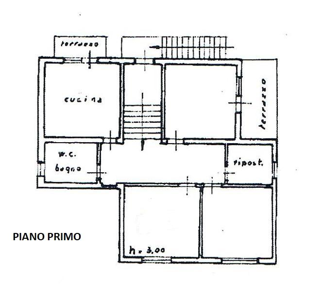 Planimetria 2/3 per rif. 1783