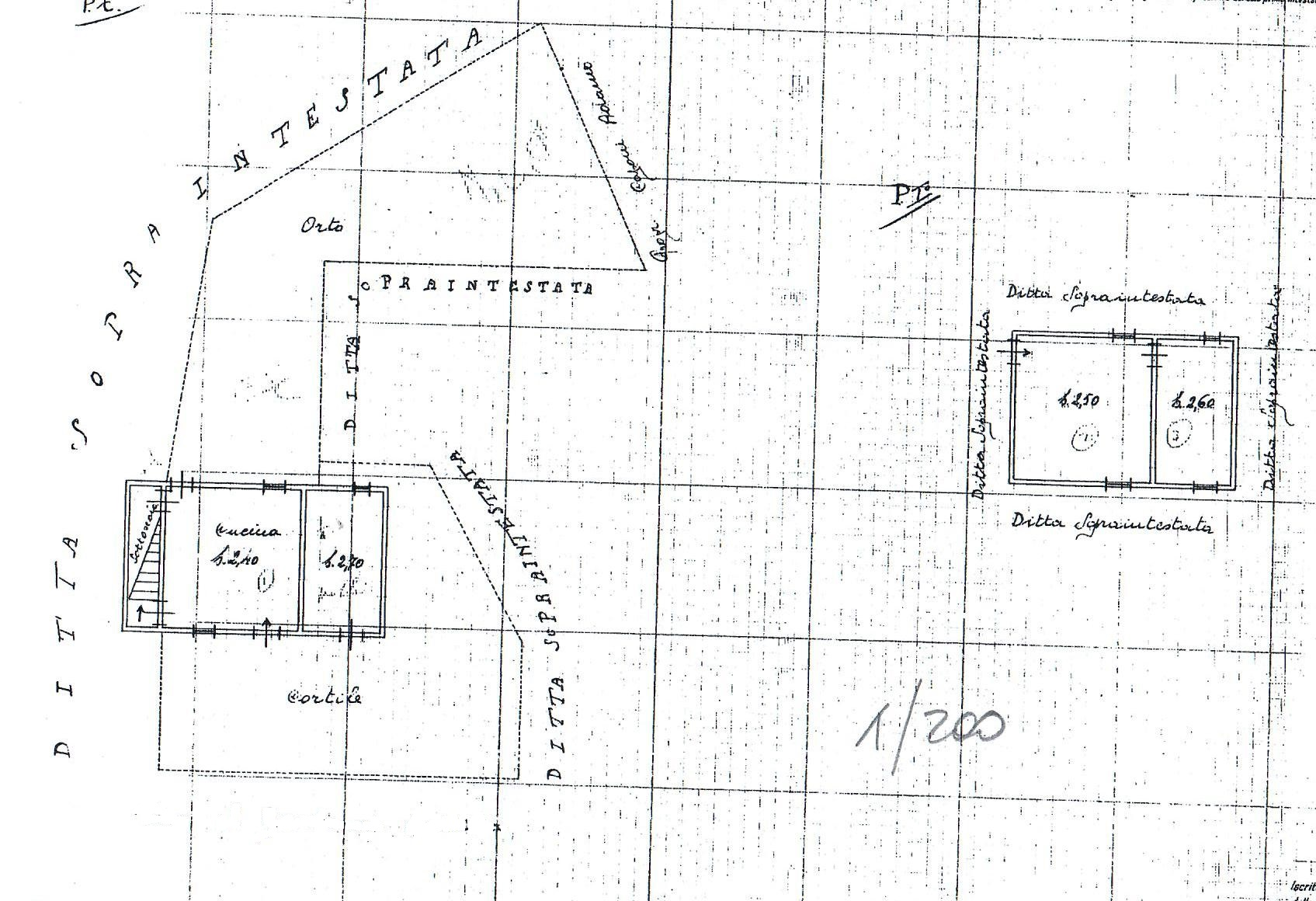 Planimetria 3/3 per rif. 1783