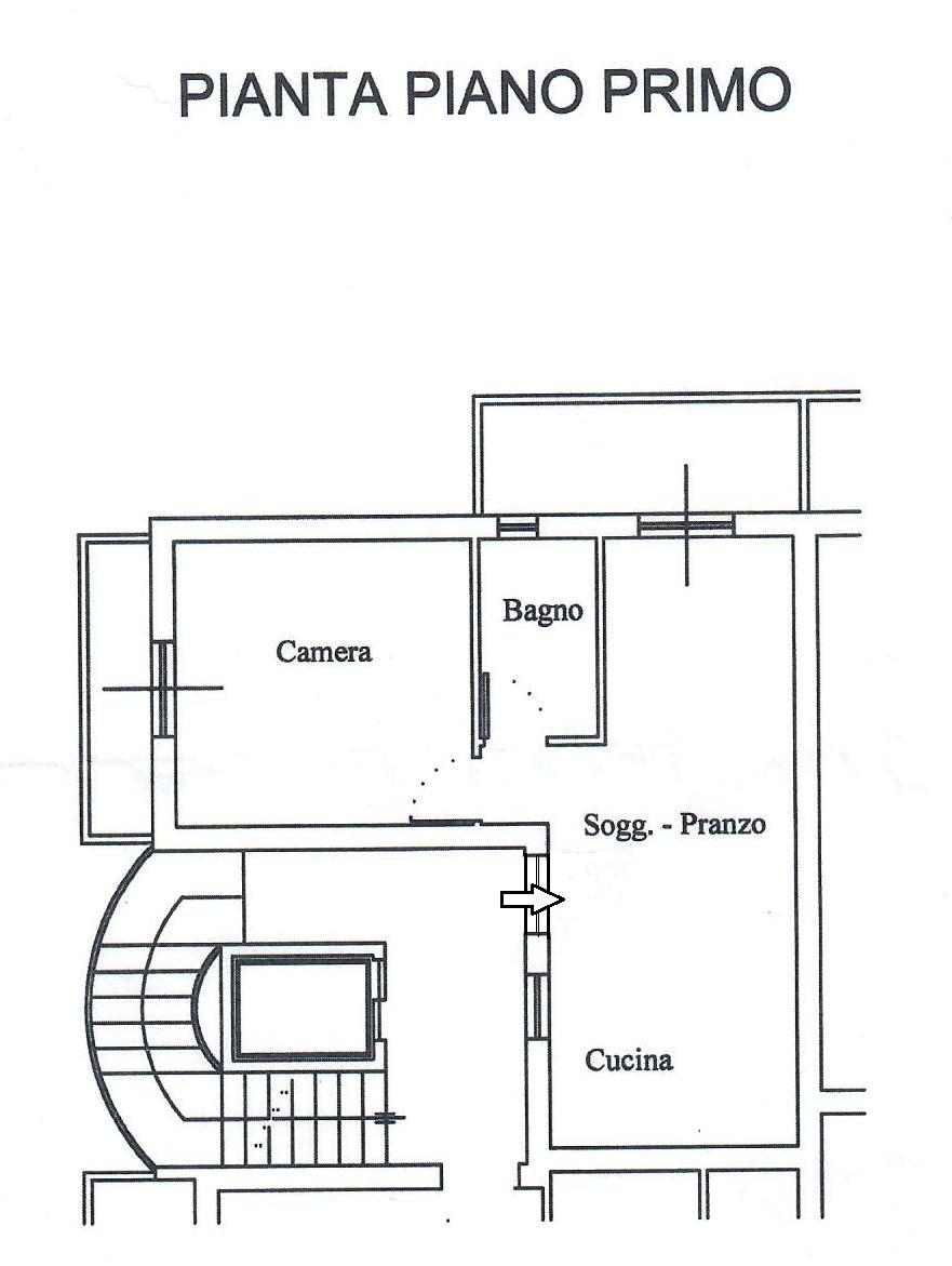 Planimetria 1/1 per rif. 1787