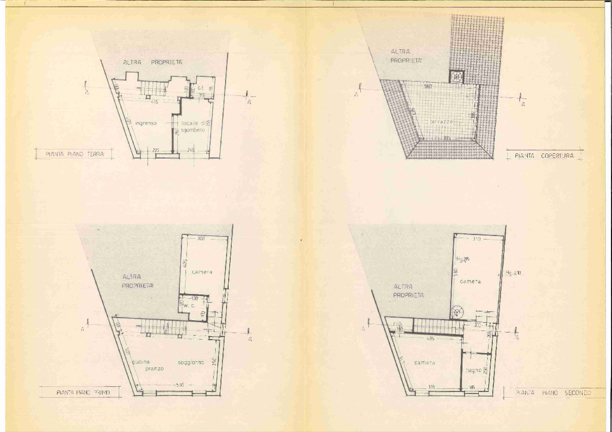 Planimetria 1/1 per rif. 1788