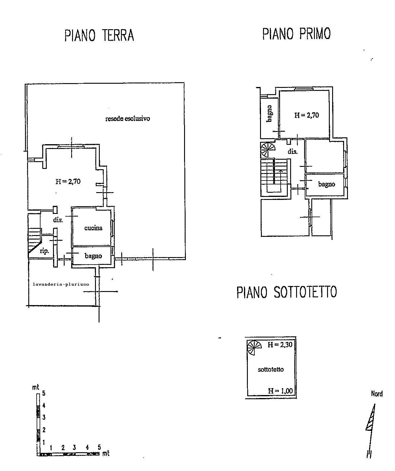 Planimetria 1/1 per rif. 1789