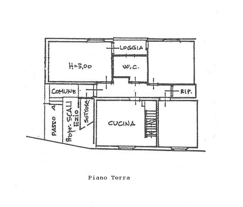 Planimetria 1/2 per rif. 1793