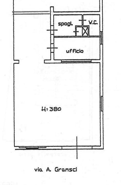 Planimetria 1/1 per rif. 1796