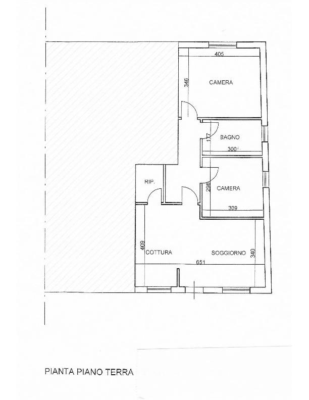 Planimetria 1/2 per rif. 1321