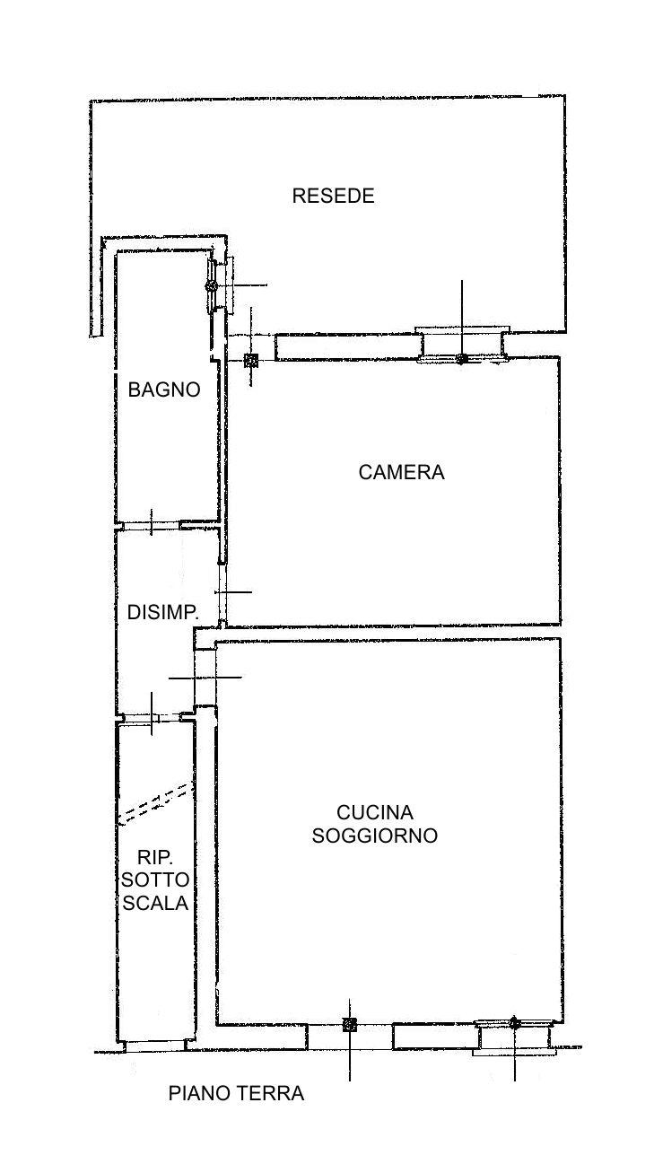 Planimetria /1 per rif. 2618