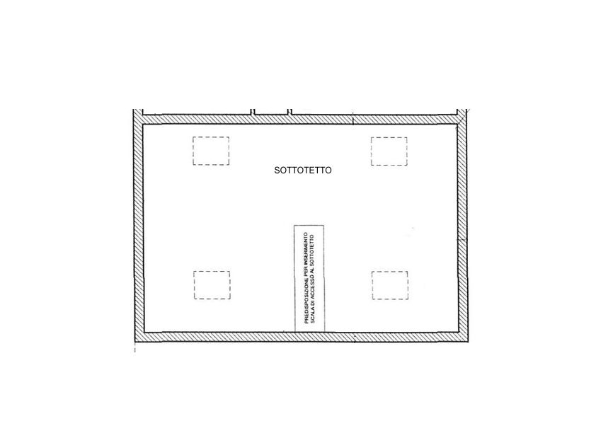 Planimetria 1/3 per rif. 2176