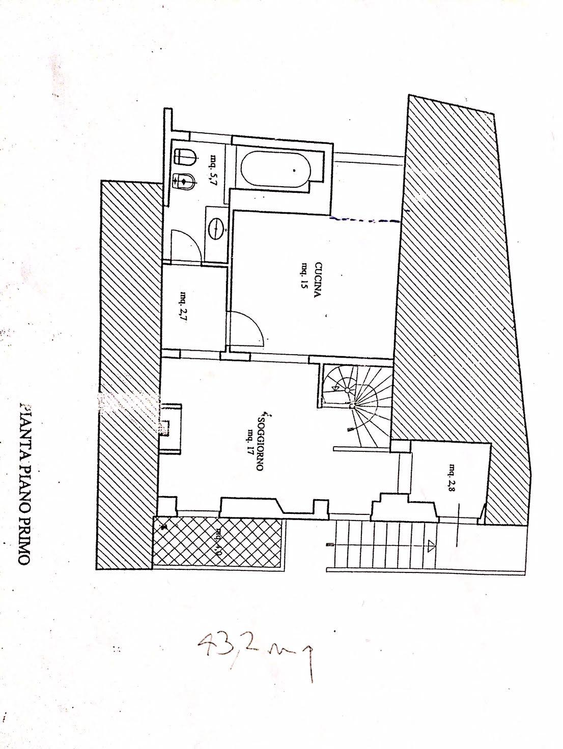 Planimetria 1/3 per rif. 2246