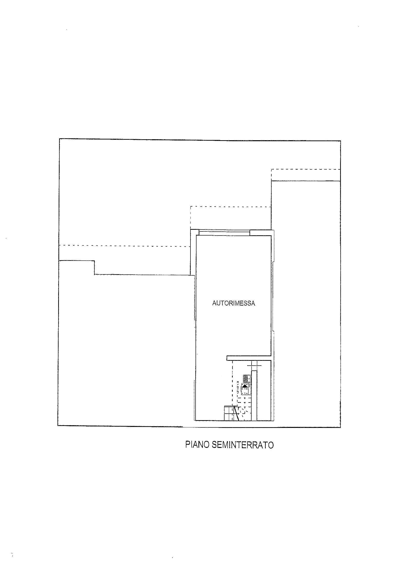 Planimetria 1/2 per rif. 2346
