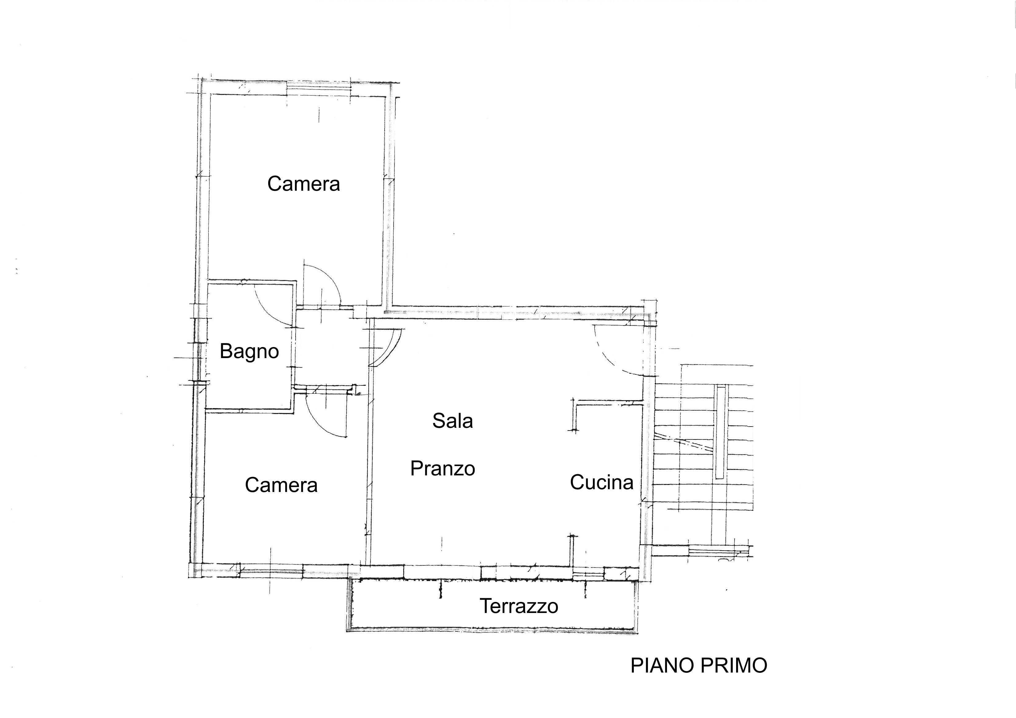 Planimetria /1 per rif. 2666