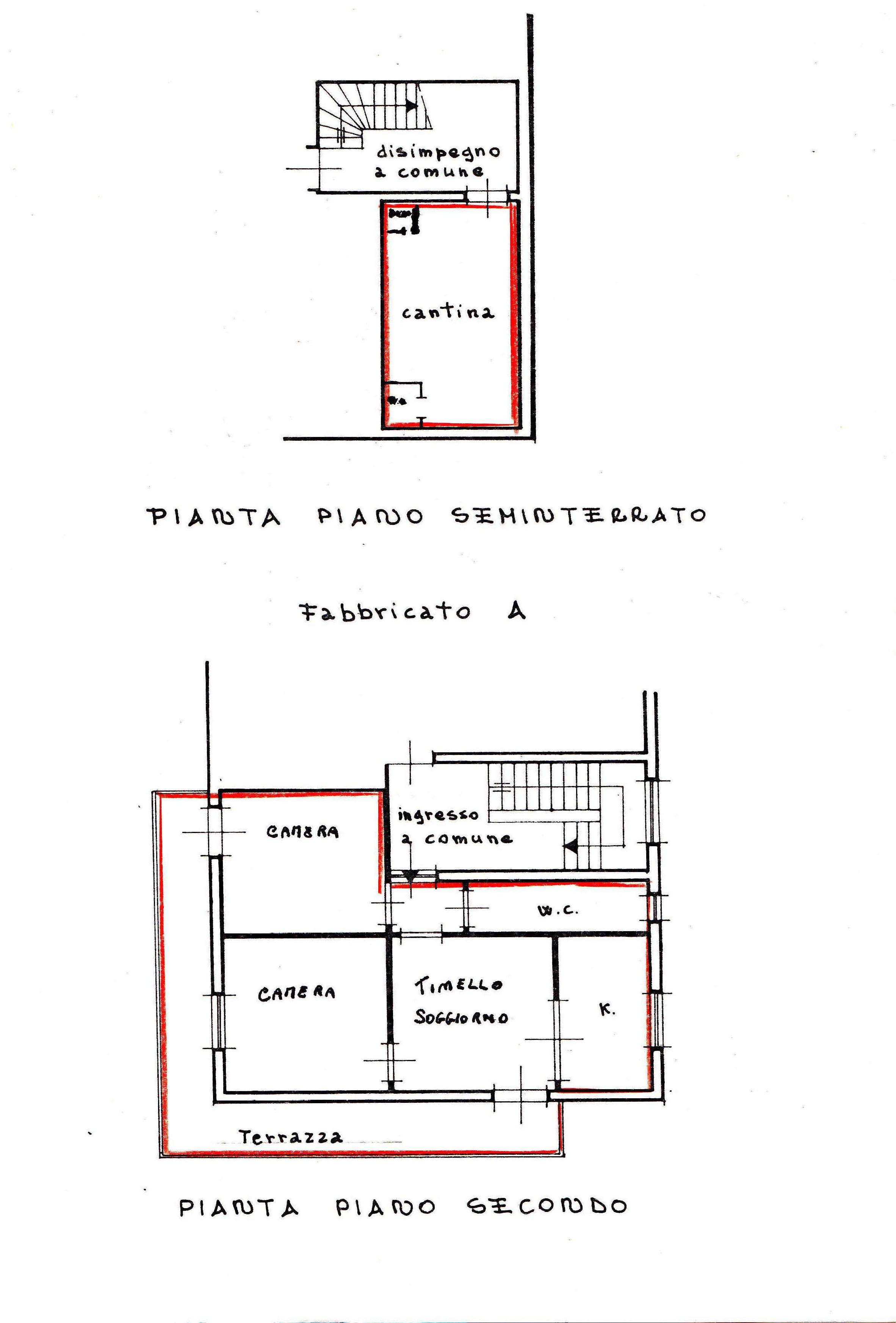 Planimetria /2 per rif. 2510