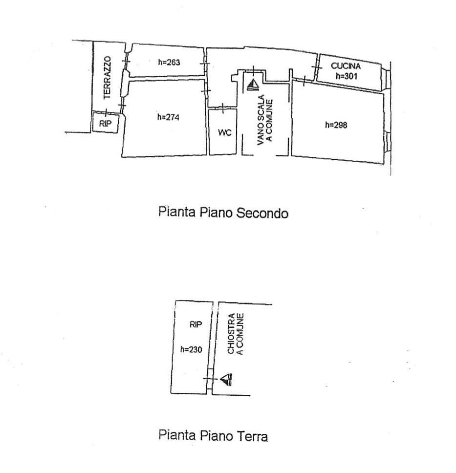 Planimetria 1/2 per rif. 2777